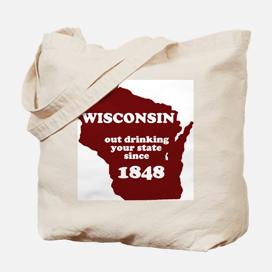 Wisconsin Outdrinking Your St Tote Bag