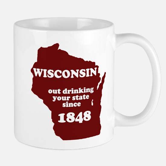 Wisconsin Outdrinking Your St Mug