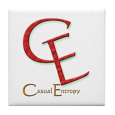 Casual Entropy Tile Coaster