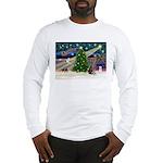 XmasMagic/Weimaraner 2 Long Sleeve T-Shirt