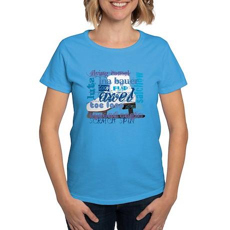 Language of Skating Women's Dark T-Shirt