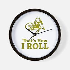 Biker Wall Clock