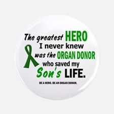 """Hero I Never Knew 1 (Son) 3.5"""" Button"""