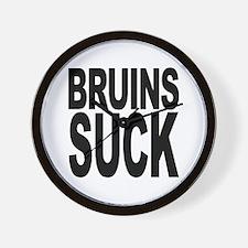 Bruins Suck Wall Clock