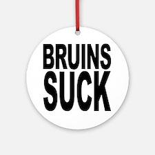 Bruins Suck Ornament (Round)