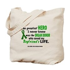 Hero I Never Knew 1 (Boyfriend) Tote Bag