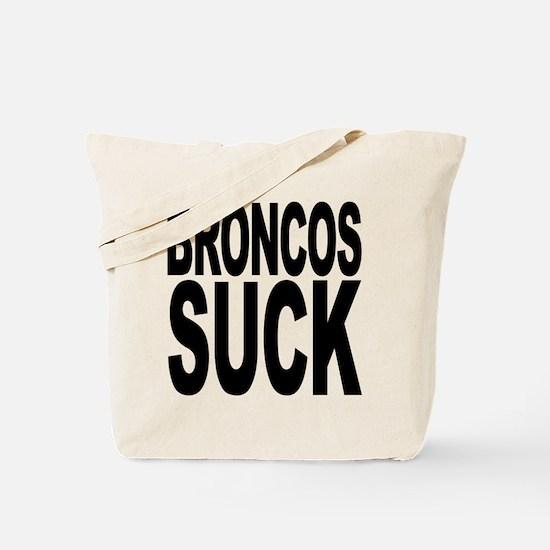 Broncos Suck Tote Bag