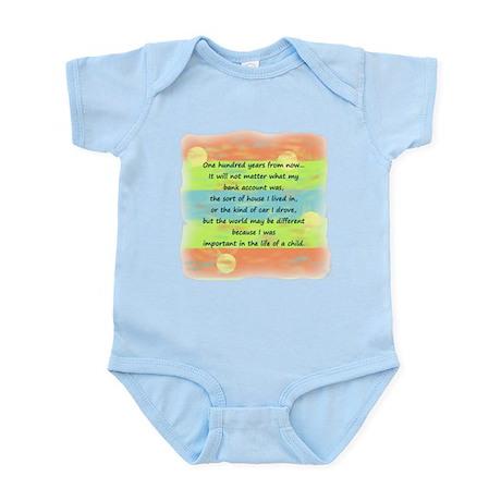 100 Years Infant Bodysuit