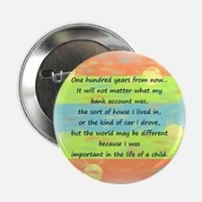 """100 Years 2.25"""" Button (10 pack)"""