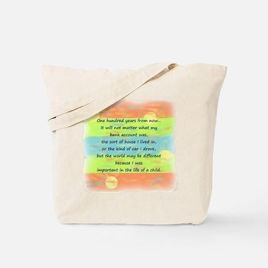 100 Years Tote Bag