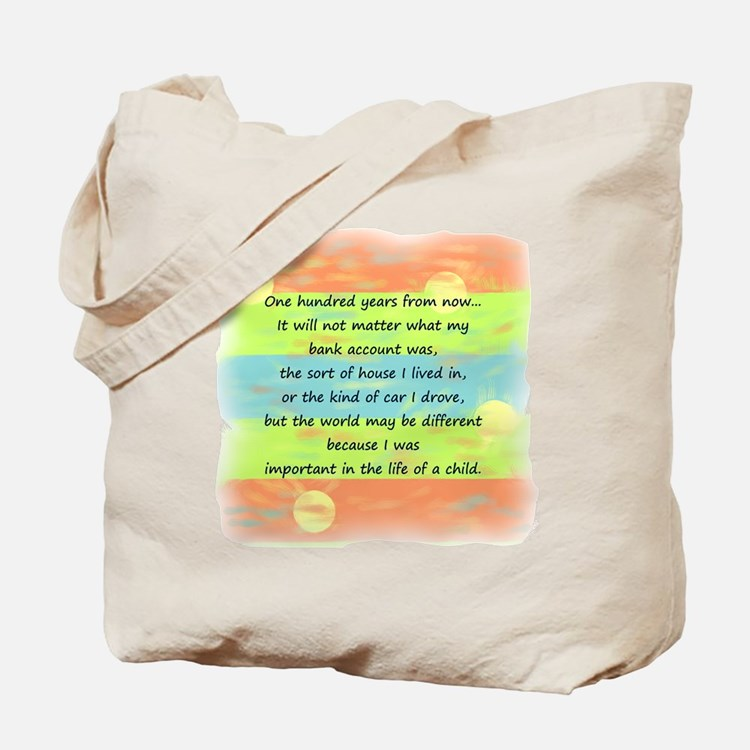 100 Years Tote Bag