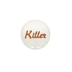 Killer Mini Button (100 pack)