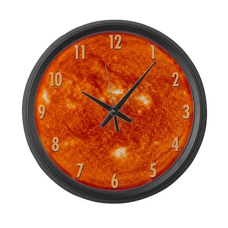 Sun (#s) Large Wall Clock
