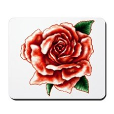 Painted Rose Mousepad