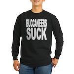 Buccaneers Suck Long Sleeve Dark T-Shirt