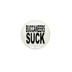 Buccaneers Suck Mini Button (10 pack)