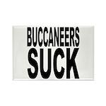 Buccaneers Suck Rectangle Magnet