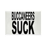 Buccaneers Suck Rectangle Magnet (10 pack)