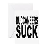 Buccaneers Suck Greeting Card