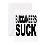 Buccaneers Suck Greeting Cards (Pk of 20)
