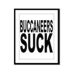 Buccaneers Suck Framed Panel Print