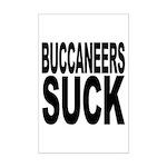 Buccaneers Suck Mini Poster Print