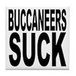 Buccaneers Suck Tile Coaster
