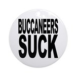 Buccaneers Suck Ornament (Round)