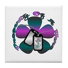 Cute Sailor Tile Coaster
