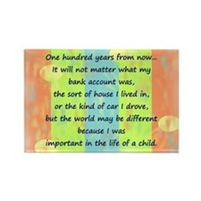 100 Years Rectangle Magnet (10 pack)