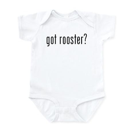 got rooster? Infant Bodysuit