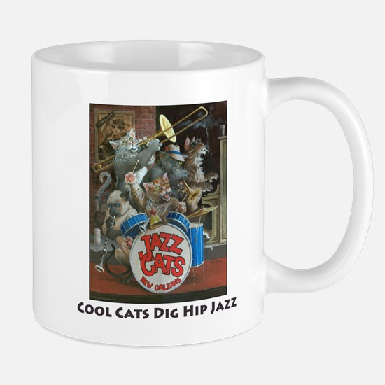 Cool Cats Dig Hip Jazz Mug