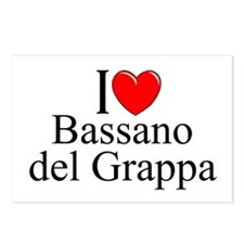 """I Love (Heart) Bassano del Grappa"" Postcards (Pac"