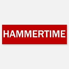 Stop Hammertime Sign Bumper Bumper Bumper Sticker