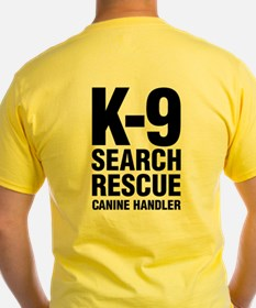 Adult Safety Yellow Rescue T-Shirt