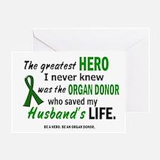 Hero I Never Knew 1 (Husband) Greeting Card