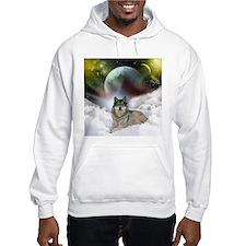 Fantasy Wolf Hoodie