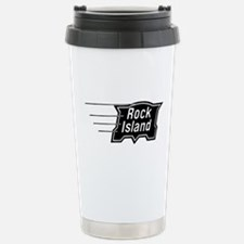 Rock Island Railroad Stainless Steel Travel Mug
