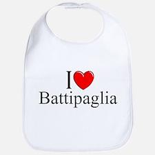 """""""I Love (Heart) Battipaglia"""" Bib"""
