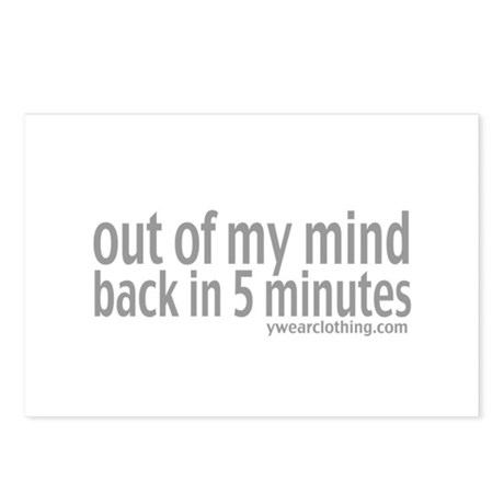 Out of Mind Postcards (Package of 8)