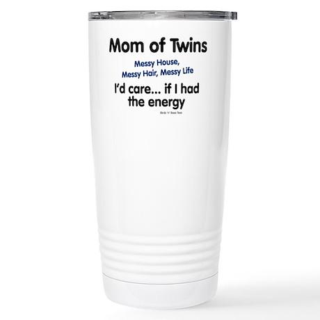 Mom of Twins: Energy Stainless Steel Travel Mug