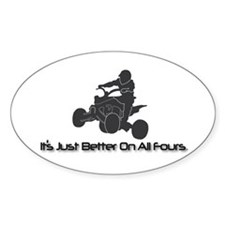 It's Just Better... Oval Decal