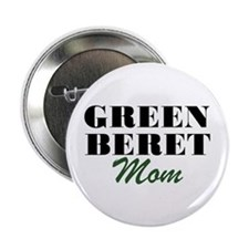 Green Beret Mom Button