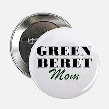 Green Beret Mom Button