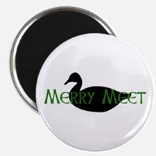 Merry Meet Spirit Duck Magnet