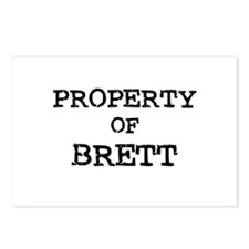 Property of Brett Postcards (Package of 8)