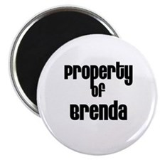 Property of Brenda Magnet