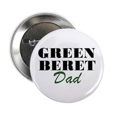 Green Beret Dad Button