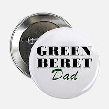 Green Beret Dad Button