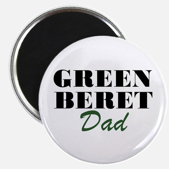 Green Beret Dad Magnet